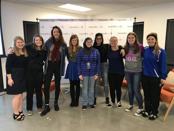 Girls Who Code Event at Hayneedle