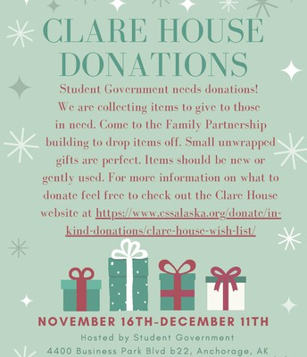 clare house flyer