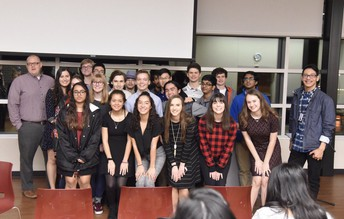 Poetry Out Loud at Cozby Library