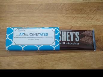 TEACHER APPRECIATION CHOCOLATES