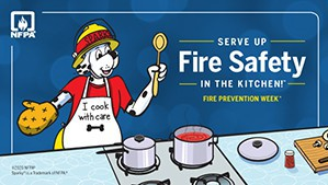 Fire prevention week poster