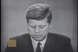 President Kennedy...