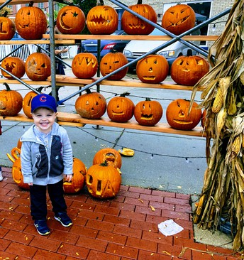Big Brother Matt Getting Ready for Halloween!