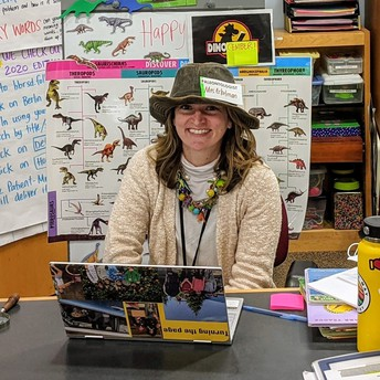Mrs. Eckelman, BMS School Librarian