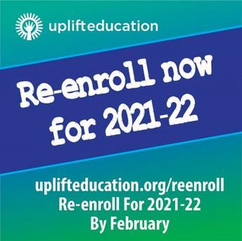 Re-Enrollment of Current Scholars is now open!