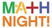 Family Math Night Invitation