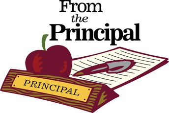 PRINCIPAL HOWARD'S MONTHLY MESSAGE
