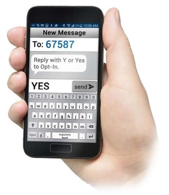 Do you want to receive important messages through text?