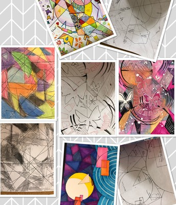 #MathArt by 8C1 and 8C2