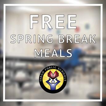 LAST CALL: Free Spring Break Meals
