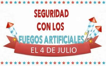 SEGURIDAD AL MANIPULAR LOS FUEGOS ARTIFICIALES