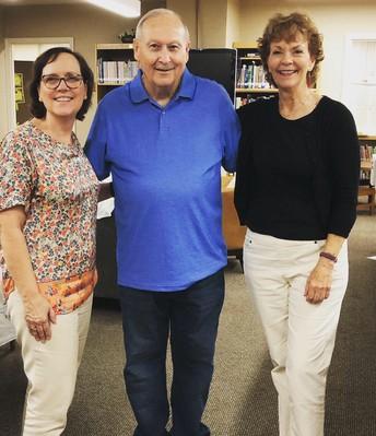 Linda Wachel, Phil Howell, Emily Martin