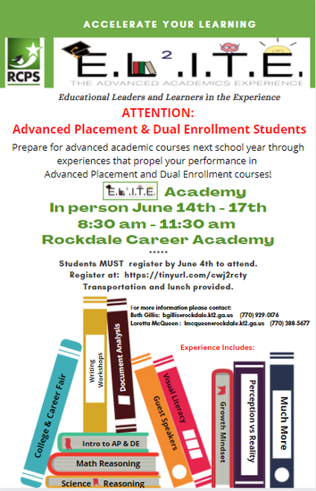 Elite Academy registration is available at https://forms.office.com/Pages/ResponsePage.aspx?id=uF7Sv_w9XE6tq60HPyOscmD3O84mEbxOp5HEEfA2XttUMzBPRjAzREkwMVZWRU9aVE9ZVFlTSzUzQy4u