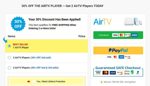 buy AirTV Player