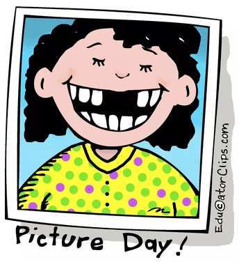 School Picture Day: Thursday, October 3rd!