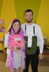 Kindergarten Celebrates the Marriage of Q & U!