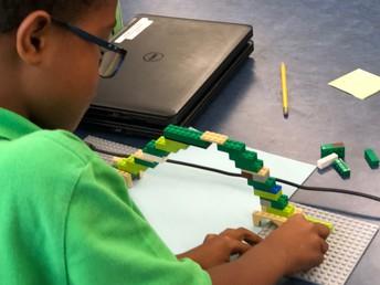 LEGO Bridge Building