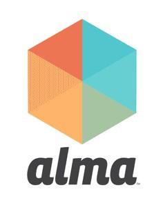 Alma logo.