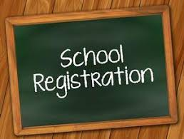 School Registration Picture and Link