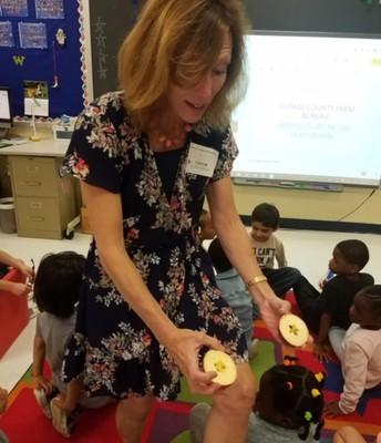 Kindergarten - agriculture in the classroom