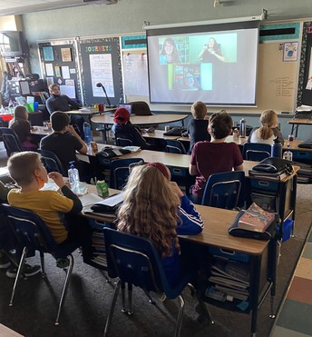 Virtual Visit with Authors