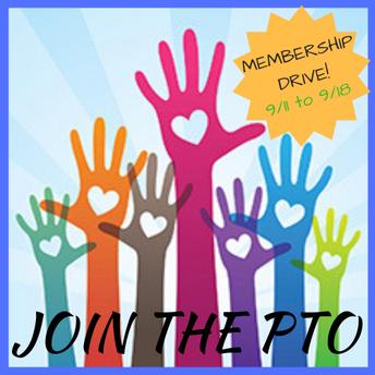 PTO Membership Drive -- Help your class win a prize!