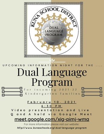 Learn more about our innovative dual language program
