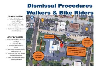Dismissal as a Walker/Bike Rider