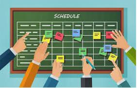 2020-2021 Scheduling Timeline