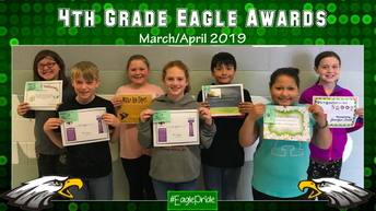 Fourth Grade March/April Awards