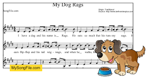 K - 2 Music - My Dog Rags