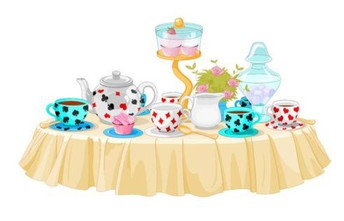 Very Fancy Tea Party with Ms.Felicia, this Saturday! 4/13