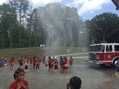 The firetruck was a pretty big hit!