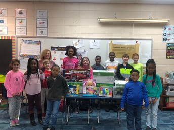 West Point Elementary School Holds Toy Drive