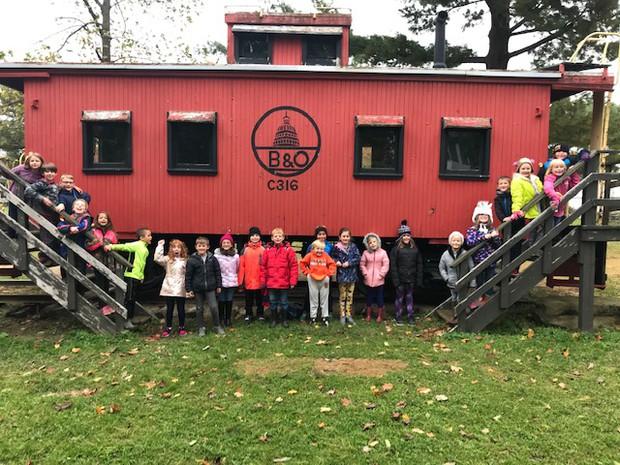 Park Elementary 2nd Grade Century Village Museum Field Trip