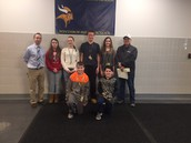 January - Students of the Month