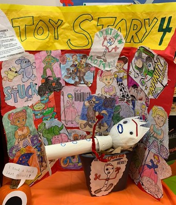 Literary Pumpkin Contest Toy Story