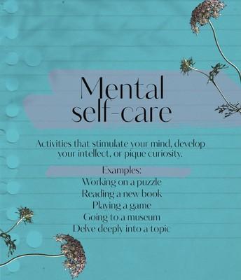 Mental Self Care