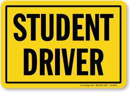 Attention Student Drivers!