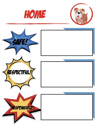 PBIS - School and Home Expectations