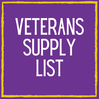 Veterans Supply List
