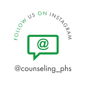 Follow us on Instagram @counseling_phs