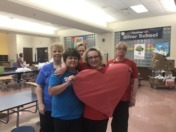 Celebrating our Cafeteria Staff