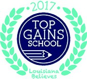 Palmetto Elementary is a Top Gains School for 2017