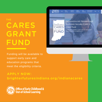 Indiana CARES About Child Care Grants