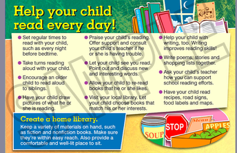 Ways to Help Your Child Read Every Day