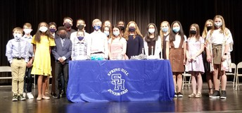 7th Grade Inductees