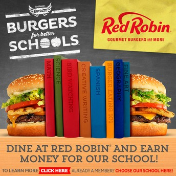 TUESDAY, MARCH 12TH ~ DIECK RED ROBIN NIGHT