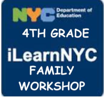 4th Grade iLearn 101 Family Workshop