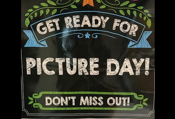 MAKE NOTE OF NEW DATE!  School Picture Day is now Monday, Oct. 14th  at  Brooks Crossing & Deans Campus